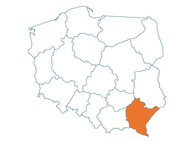 009_mapa_podkarpackie
